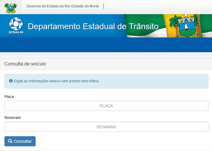 Consulta IPVA 2020 Rio Grande do Norte (RN)