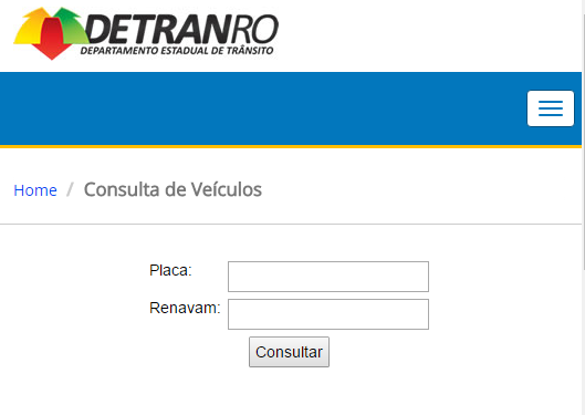 Consulta IPVA 2020 Rondônia