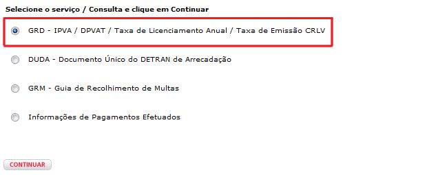 IPVA 2020 Rio Grande do Norte - Emissão da Guia de pagamento Bradesco