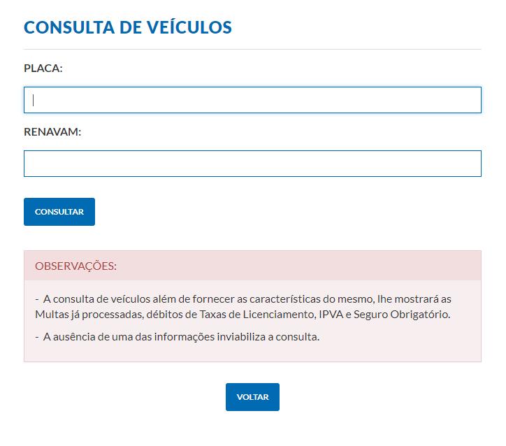 Consulta IPVA 2020 AP